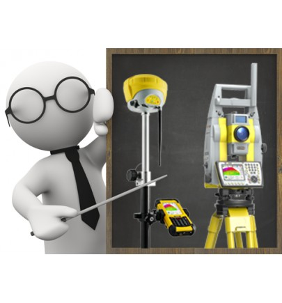 Robotic Total Station + GNSS Receiver + XPAD SW Training