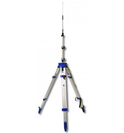 Ensemble antenne radio UHF 0dB avec canne et trépied
