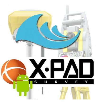Extension XPAD FIELD Bathymétrie pour Android
