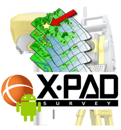 Extension XPAD FIELD Volume pour Android